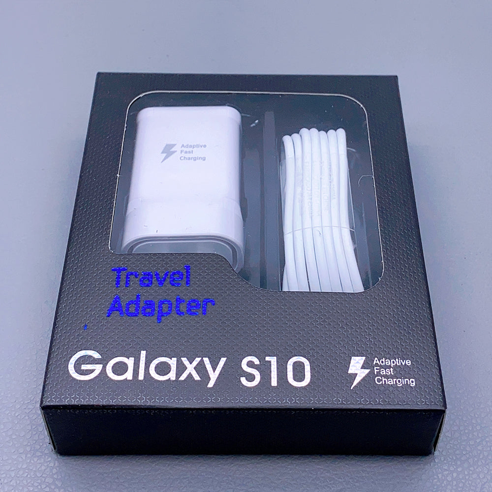 Samsung travel charger with Type-C cable