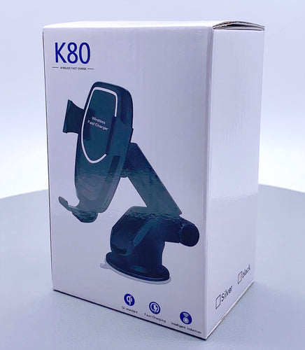 K80 wireless Fast charging car holder