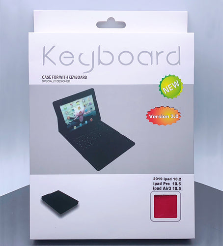 ipad new 9.7 wireless bluetooth wallet keyboard pouch case (9.7 / air 1/2 fit)