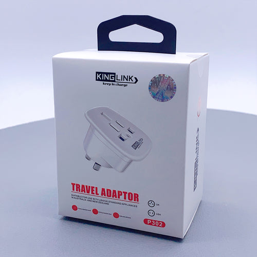 Kinglink travel adapter P302