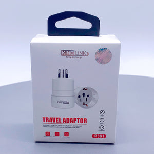 Kinglink travel adapter P301