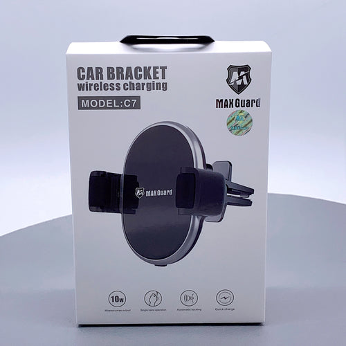 Maxguard wireless charger air vent car holder C7