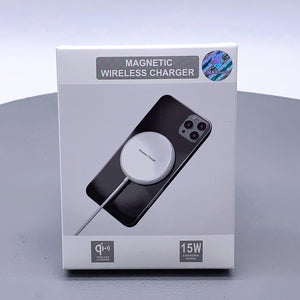 Maxguard magnetic wireless charger 15w qi iphone 12