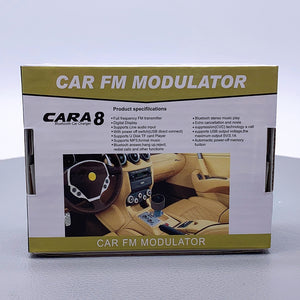 Wireless bluetooth Car FM modualator CARA8