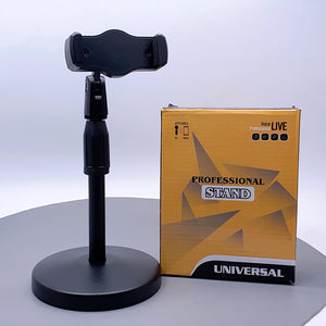 Universal voice live holder stand