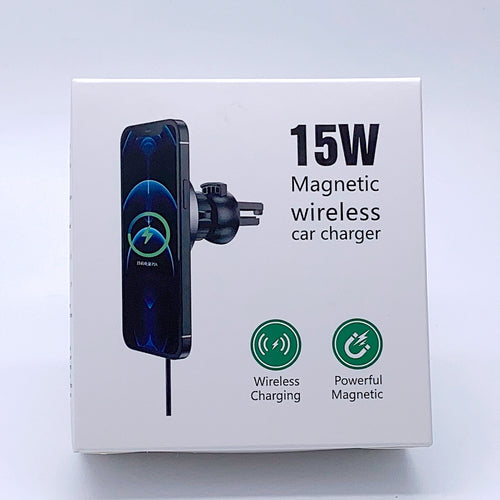 Magnetic wireless car charger 15W