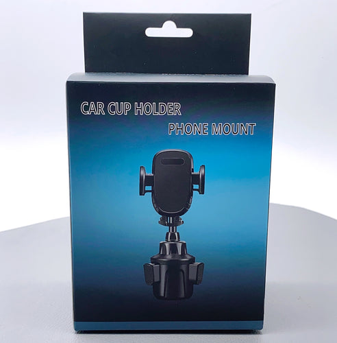 Car cup phone holder