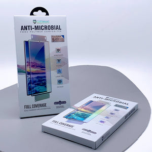 Maxguard anti-microbial full coverage screen protector sp