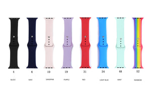 apple watch band One Color tpu Band