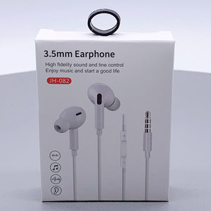 3.5mm earphone with control JH-082