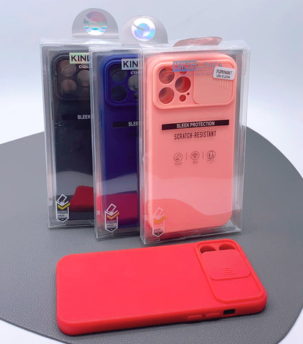 iPhone 12 Pro Max 6.7 Kinglink lens silicon case
