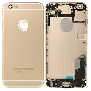 IPHONE 6PLUS BACK HOUSING WITH PARTS GOLD