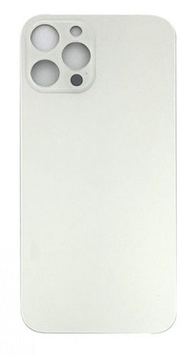 IPHONE 12PRO MAX BACK GLASS SILVER (BIG HOLE)