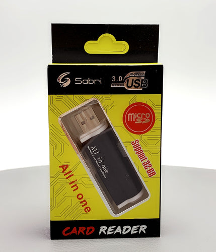 Sabri USB all in one card reader adapter