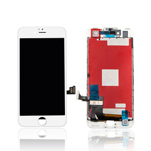 IPHONE 8G LCD SCREEN WHITE (AFTERMARKET HIGH QUALITY)