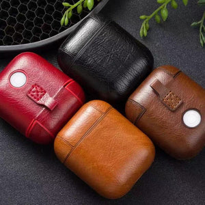 Airpod (1/2th generations) leather case
