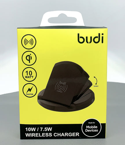 budi qi 10w foldable wireless charger A3200