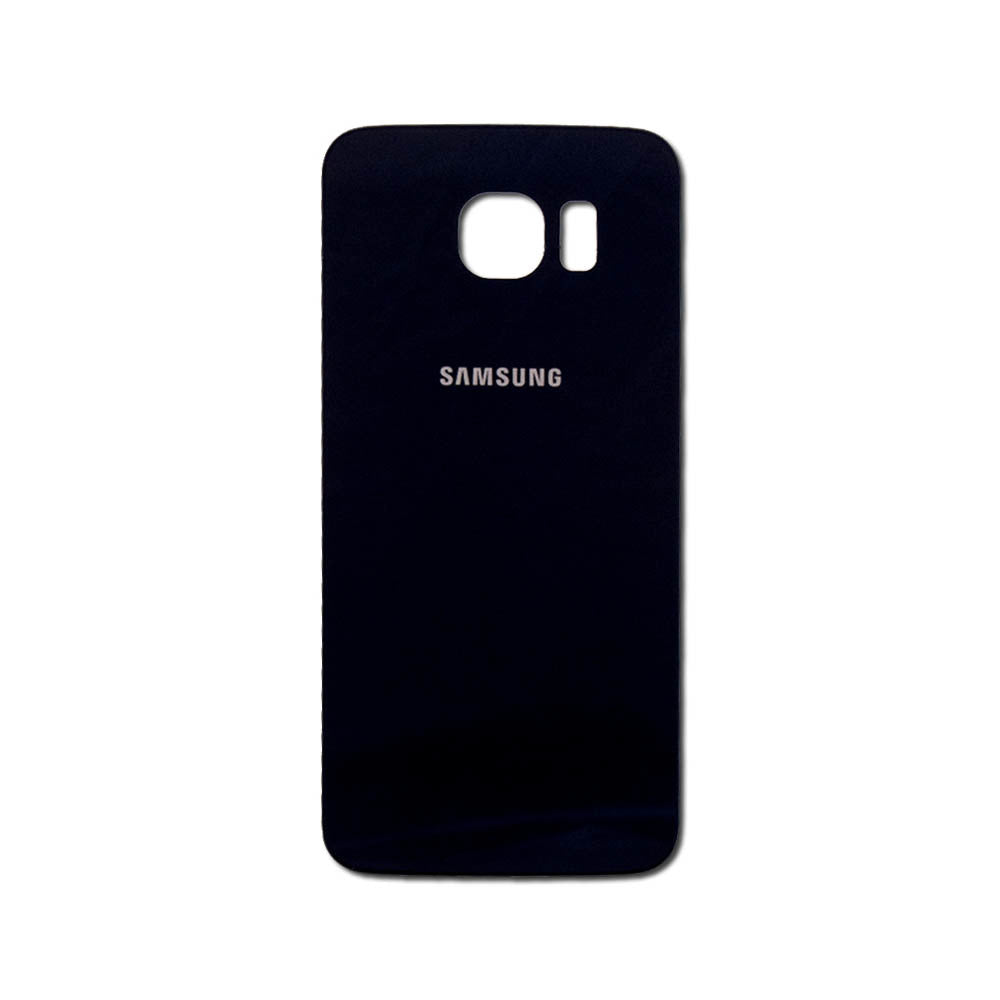 SAMSUNG S6 BACK GLASS BLACK