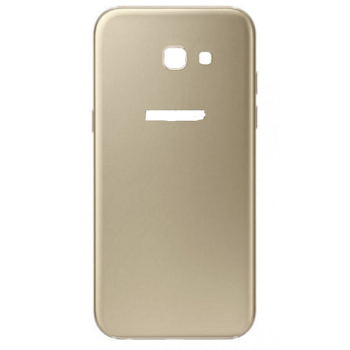 SAMSUNG A5(2017) BACK GLASS COVER GOLD