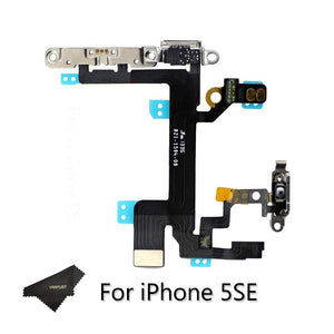 iPhone 5SE SWITCH ON OFF FLEX WITH METAL BRACKET
