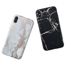 iphone i7/8+ plus marble laser full edge case (ip6+/7+/8+ fit)