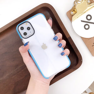 iphone i7/8+ plus tech tpu soft case (clear)(i7P/i6P fit)