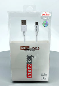 Kinglink K222/3M micro cable