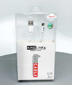 Kinglink K223/3M type-c cable