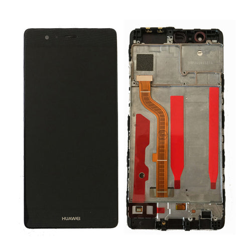 HUAWEI/P9 LCD SCREEN WITH FRAME BLACK