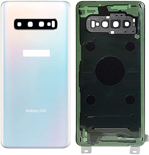 SAMSUNG S10PLUS BACK GLASS PRISM WHITE