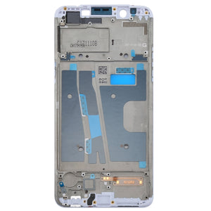 OPPO/A73 LCD SCREEN WHITE WITH FRAME