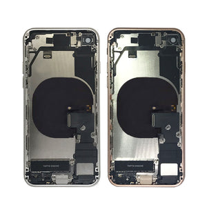 IPHONE 8G BACK HOUSING WITH SMALL PARTS ROSE GOLD