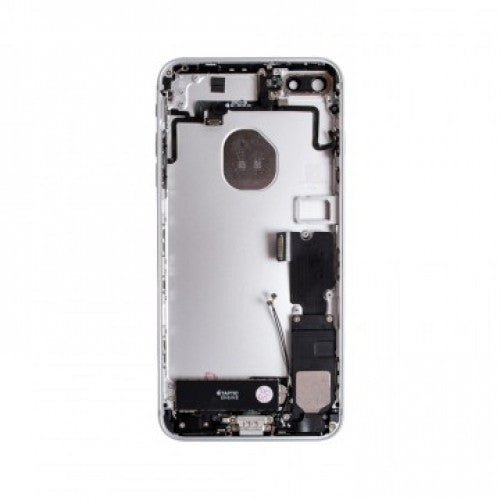 IPHONE 7PLUS BACK HOUSING WITH SMALL PARTS SILVER