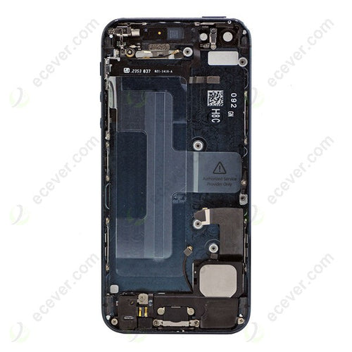 IPHONE 5G BACK HOUSING WITH PARTS BLACK