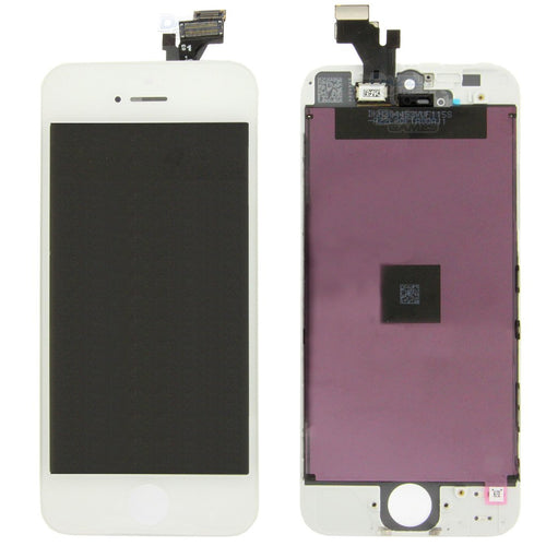 iPhone 5G LCD SCREEN White (Aftermarket High Quality)