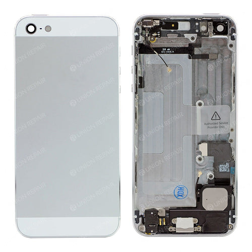 IPHONE 5G BACK HOUSING WITH PARTS SILVER
