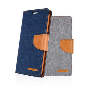 S20 canvas diary case
