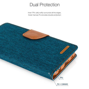 S10 canvas diary case