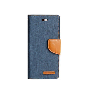 S9+ plus canvas diary case