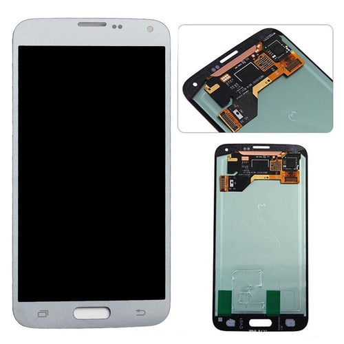 SAMSUNG S5 SCREEN WHITE