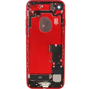 IPHONE 7G BACK HOUSING WITH PARTS RED