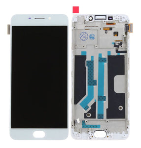 R9 LCD SCREEN WHITE WITH FRAME