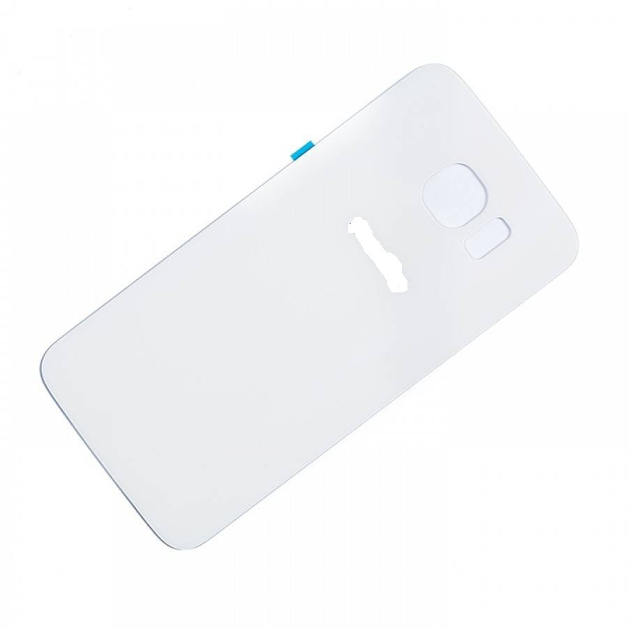SAMSUNG S6 BACK GLASS COVER WHITE