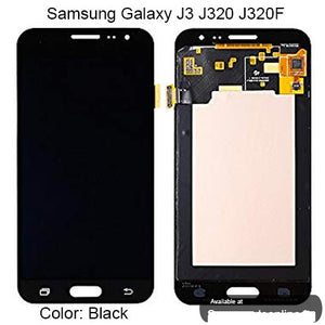 SAMSUNG J320 LCD SCREEN BLACK (BRAND NEW)