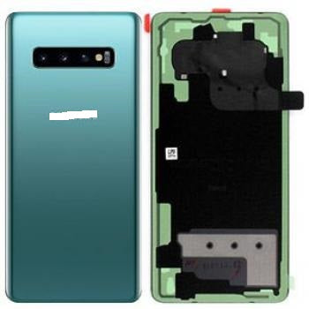 SAMSUNG S10PLUS BACK GLASS PRISM GREEN