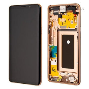 SAMSUNG S9PLUS SCREEN GOLD (REFURBISHED HIGH QUALITY)