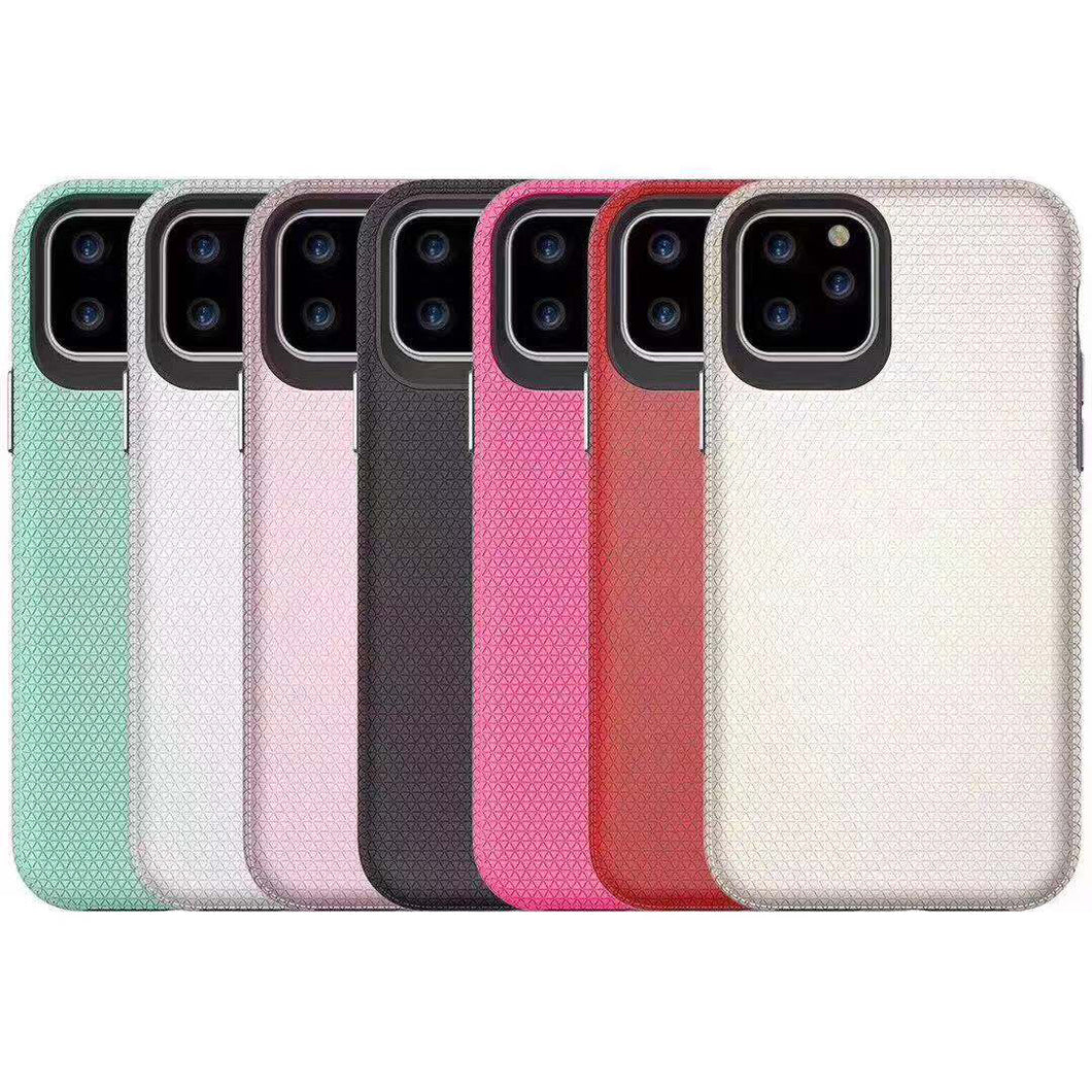iphone 11pro max 6.5 triangle series thin color back baocai case