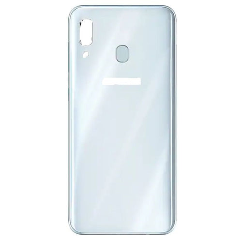 SAMSUNG A20 BACK COVER WHITE