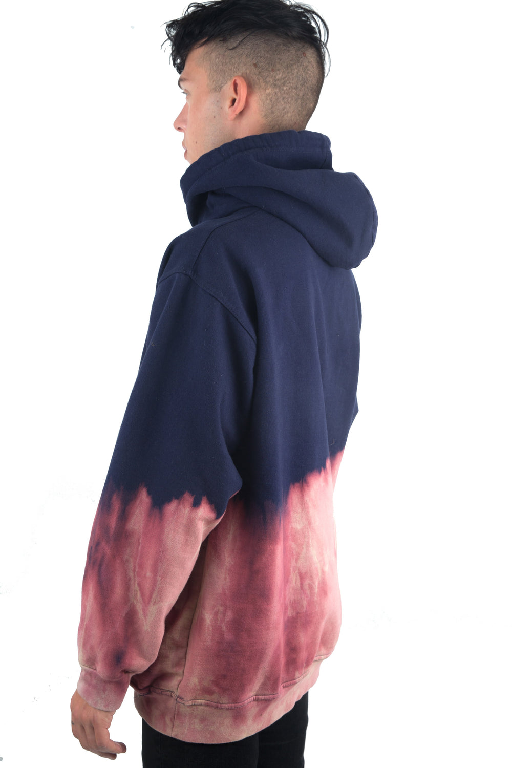 Acid Washed Pullover PULLOVER FADED ROYALTY
