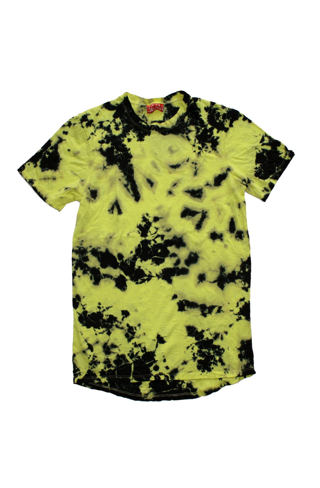 YELLOW ACID WASH TSHIRT